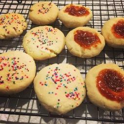 Guava & Shortbread Sprinkle Cookies